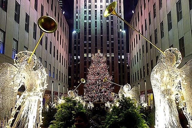 Rockefeller Center Christmas Tree - New York